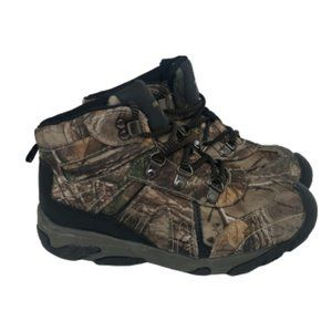 Realtree Boys Camouflage Hunting Hiking High Top
